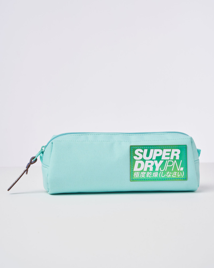 Superdry Pearl Pencil Case Powder Turquoise