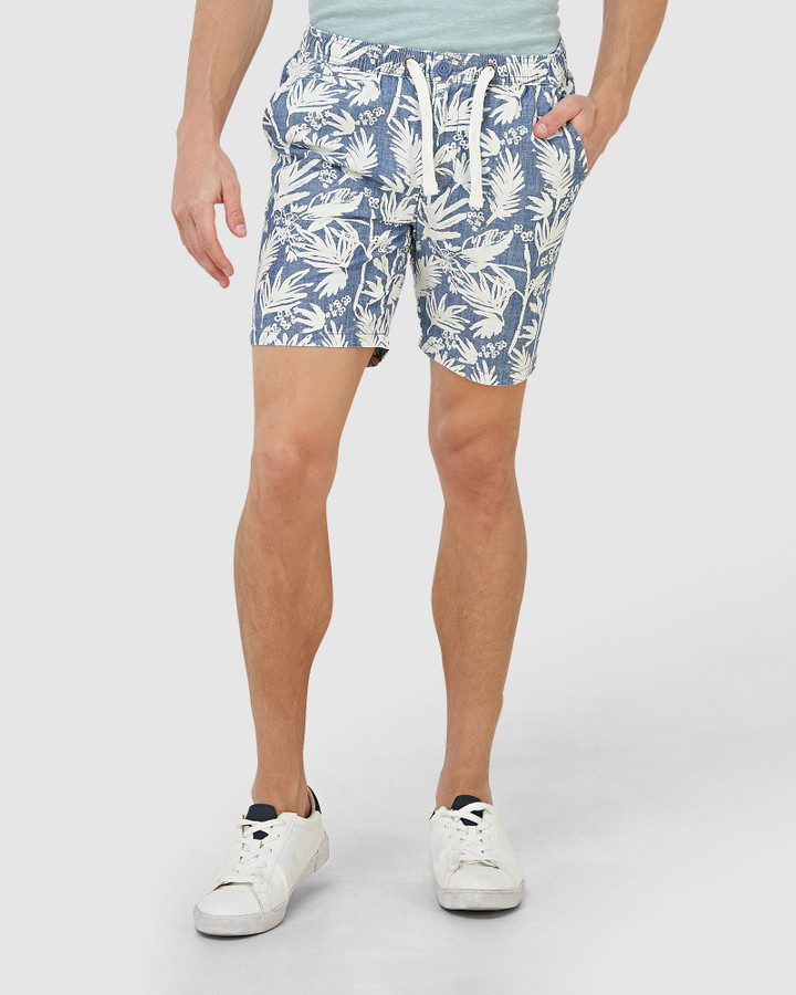 Superdry Sunscorched Chino Short Chambray Palm