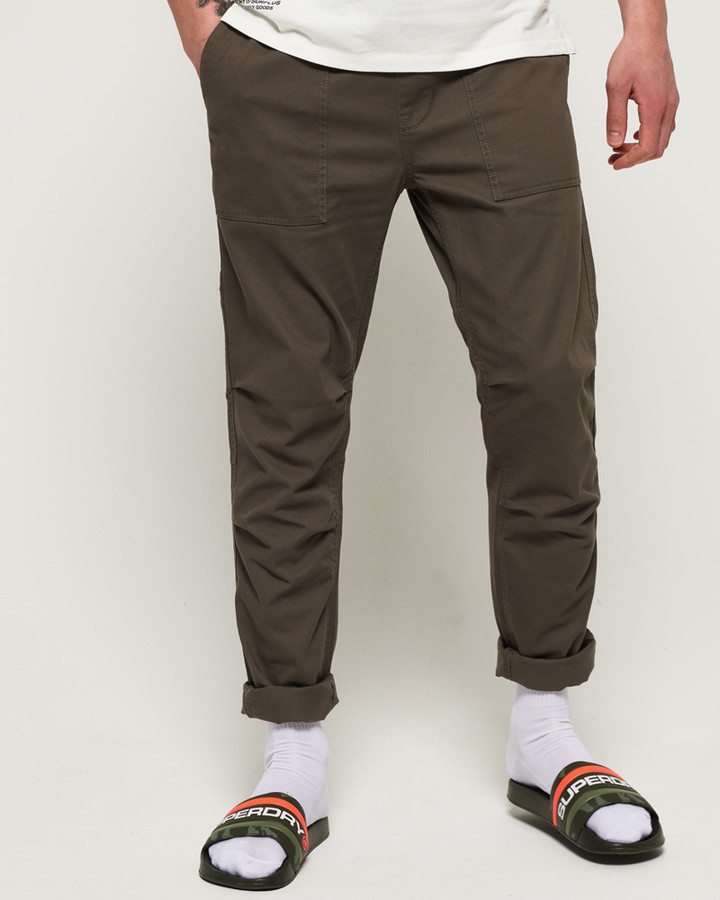Superdry Core Utility Pant Shadow Grey
