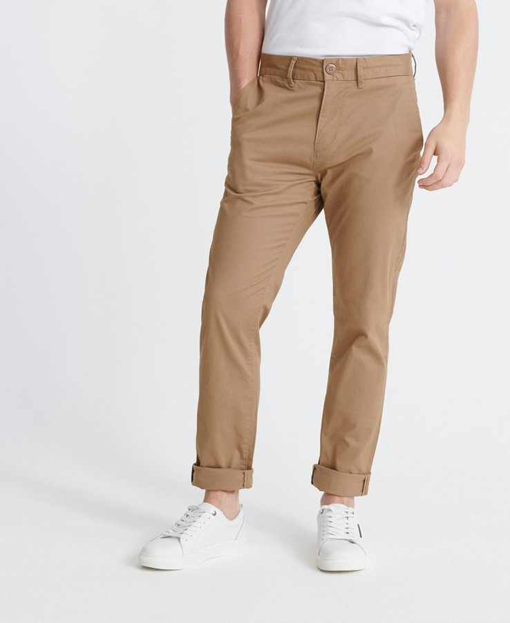 Superdry Edit Chino Combat Brown 32