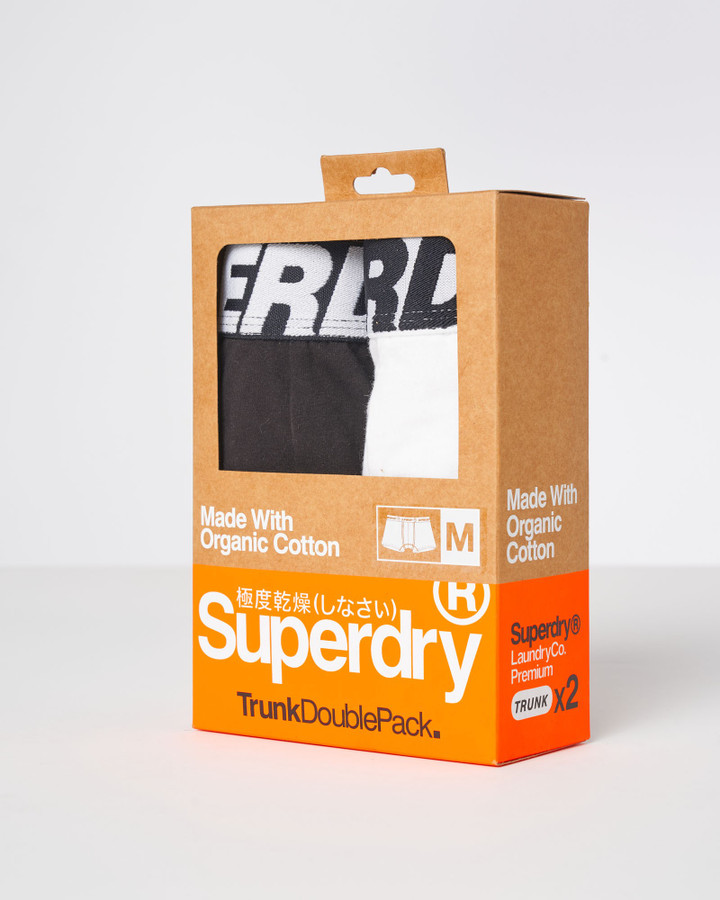 Superdry Trunk Double Black/Optic