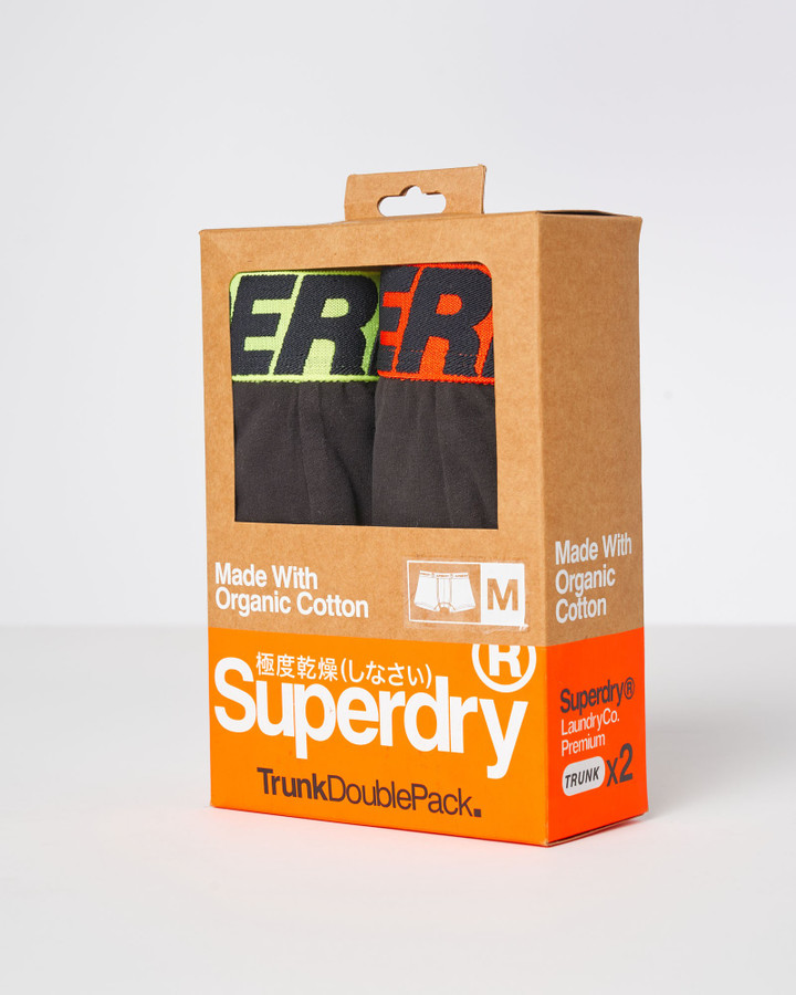 Superdry Trunk Double Black/Black