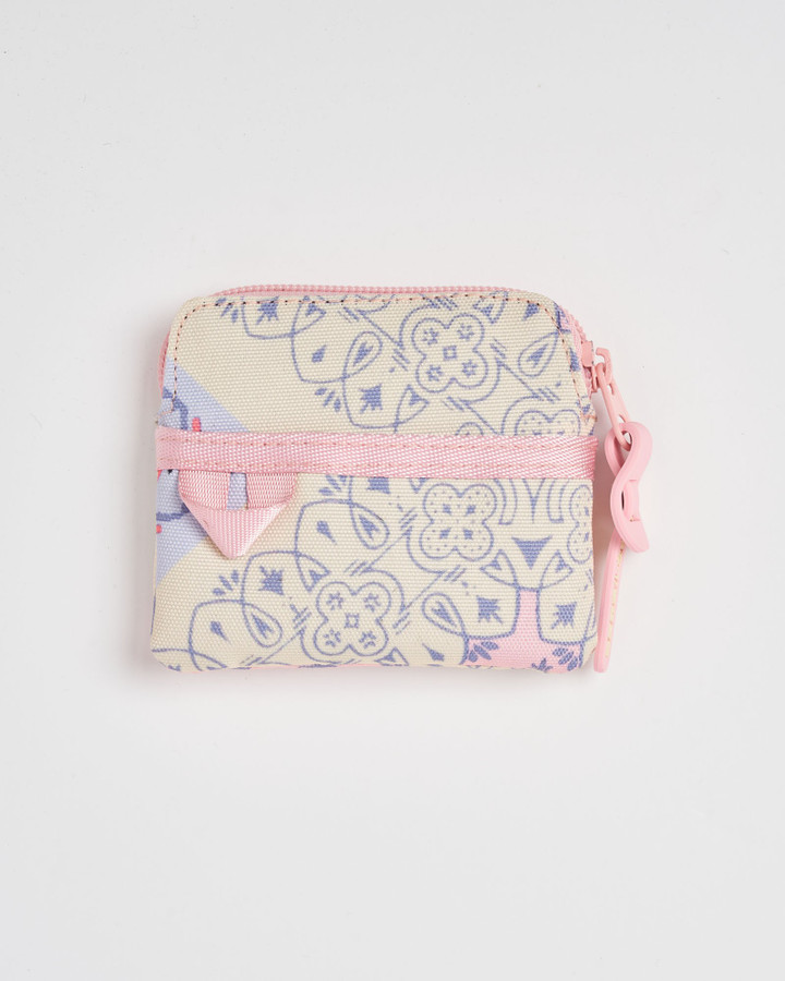 Superdry Printed Coin Purse Pink Aop