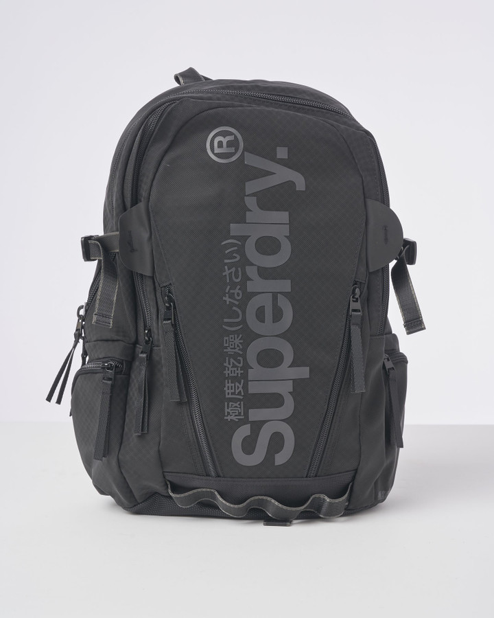 Superdry Combray Tarp Backpack Black