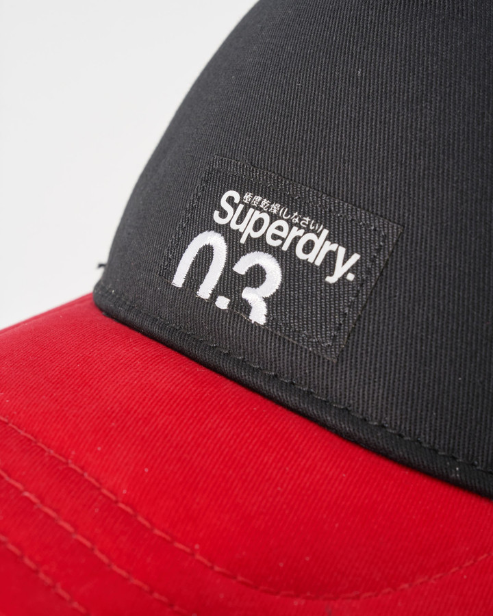 Superdry Nyc Trucker Black