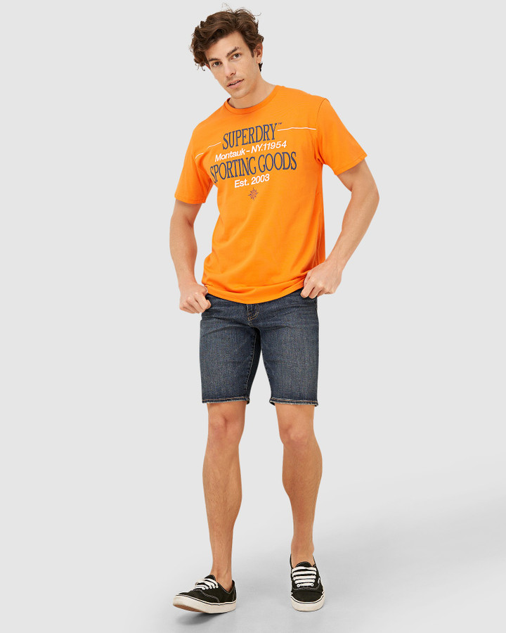 Superdry Yacht Prep Tee Float Orange