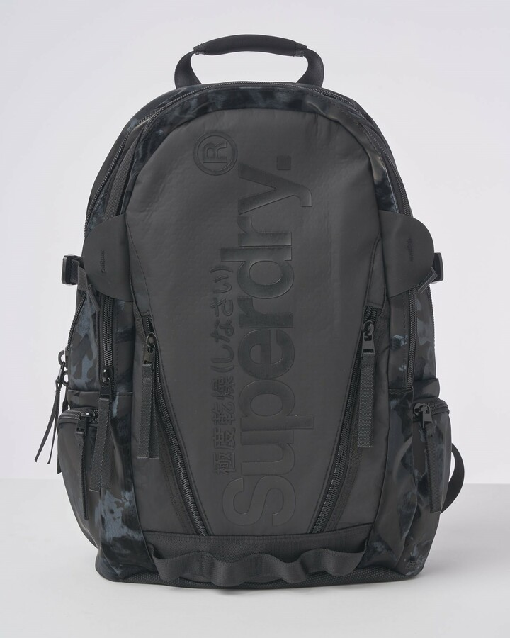 Superdry Harbour Tarp Backpack Black