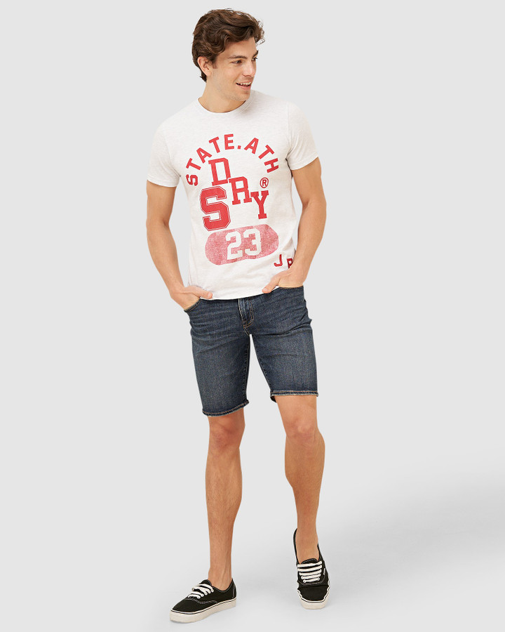 Superdry T&F Classic Tee Ice Marle