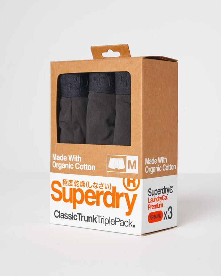Superdry Classic Trunk Triple Black Multi