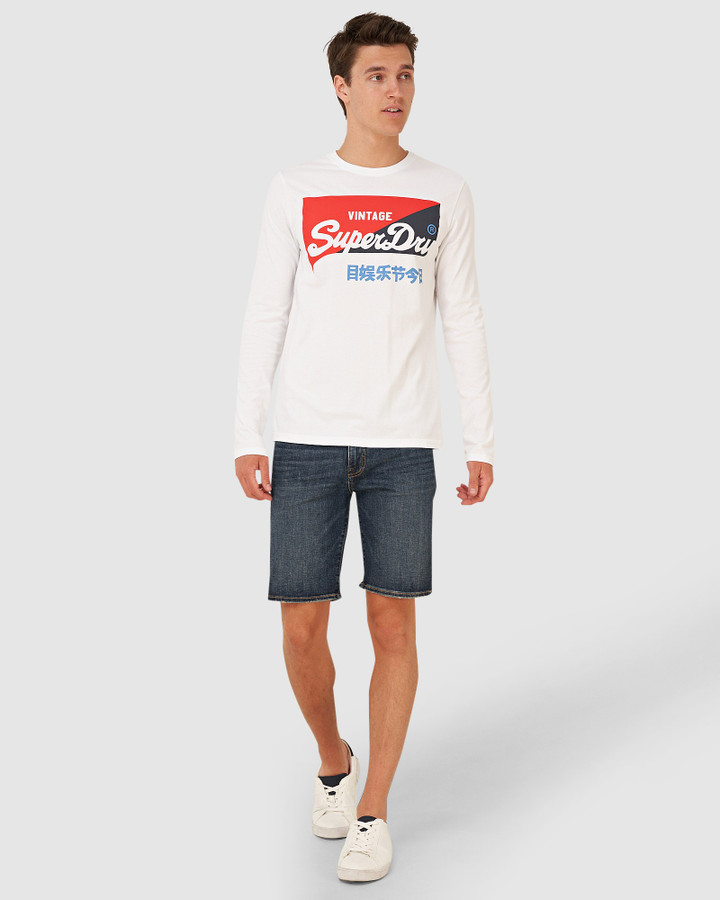Superdry Vl O Primary Ls Top Optic