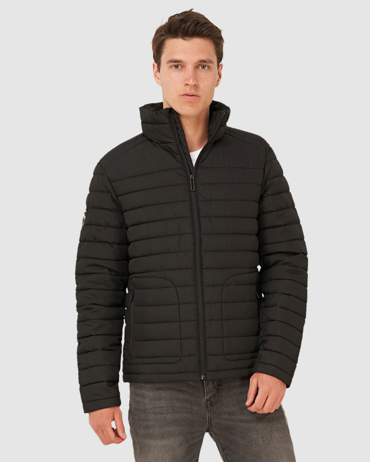 Superdry Double Zip Fuji Jacket Black