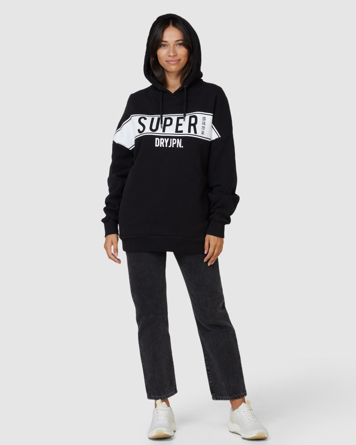 Superdry Sdry Panel Hood Black