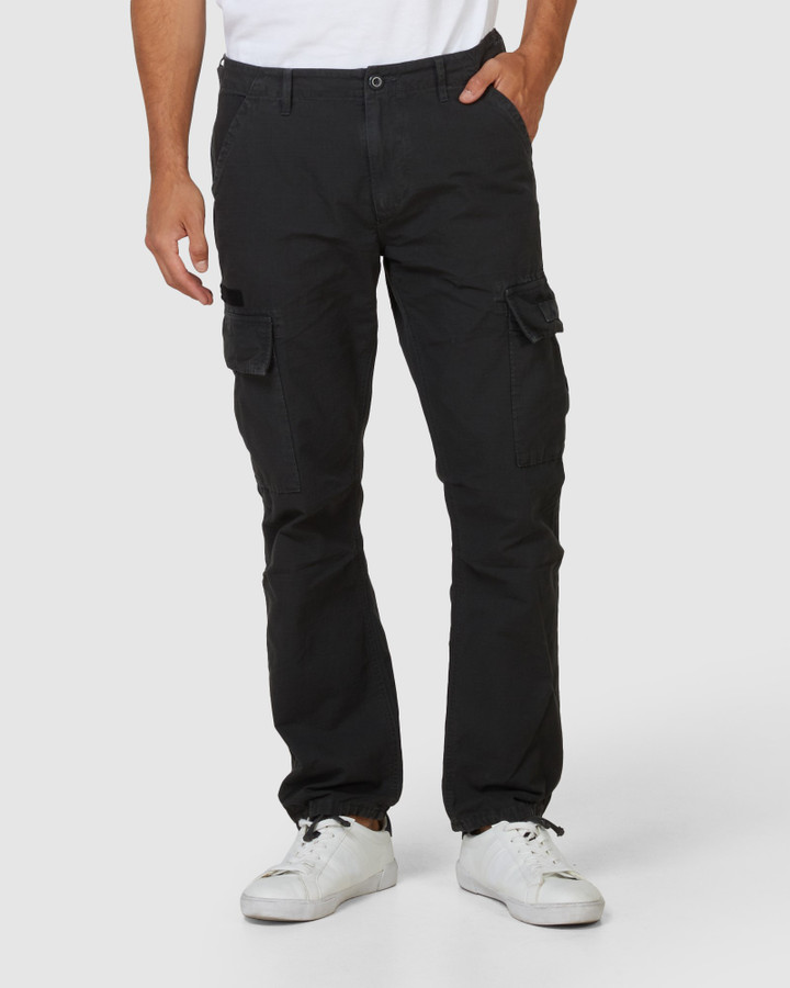 Superdry Field Cargo Washed Black 32