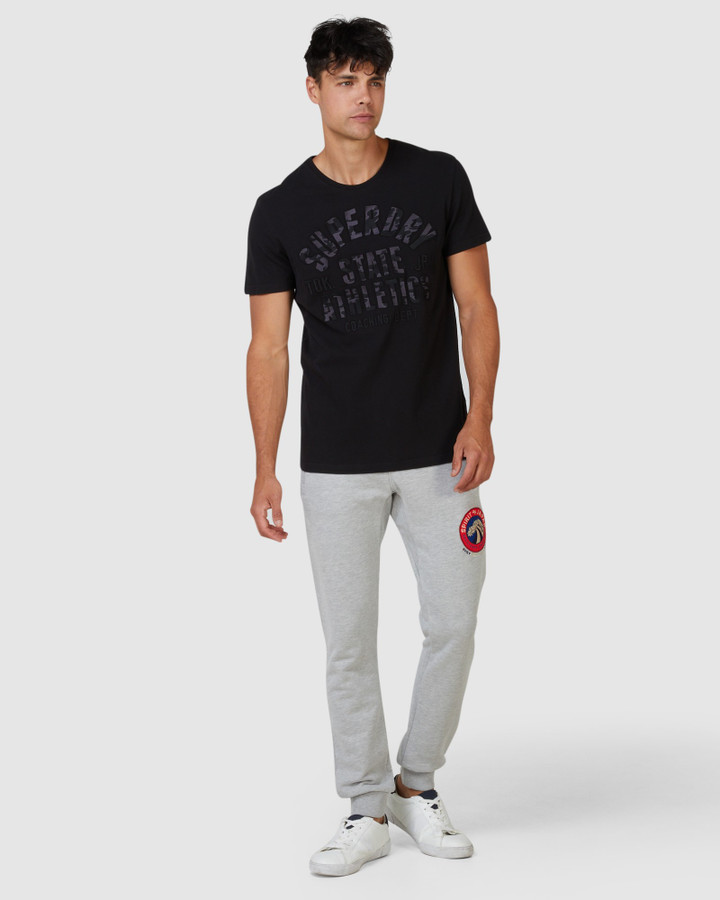 Superdry Spirit Of Japan Jogger Grey Chalk Marle
