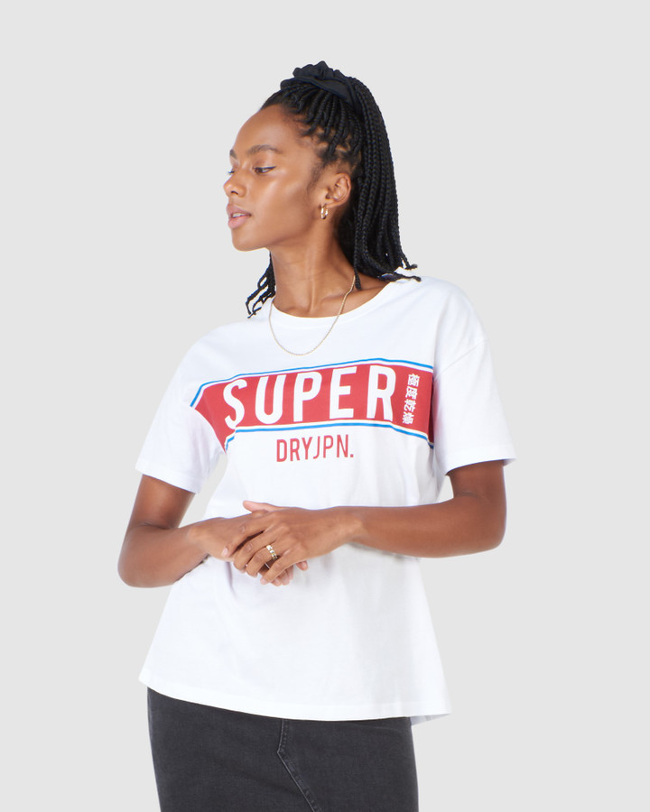 Superdry Sdry Panel Tee  Optic