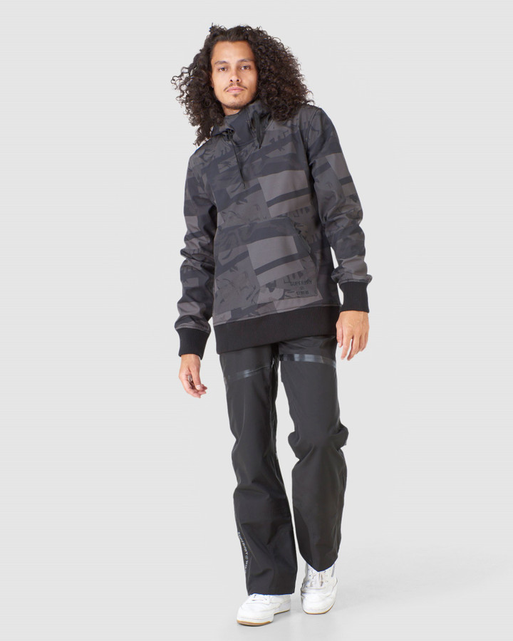 Superdry Snow Tech Hood Camo Aop