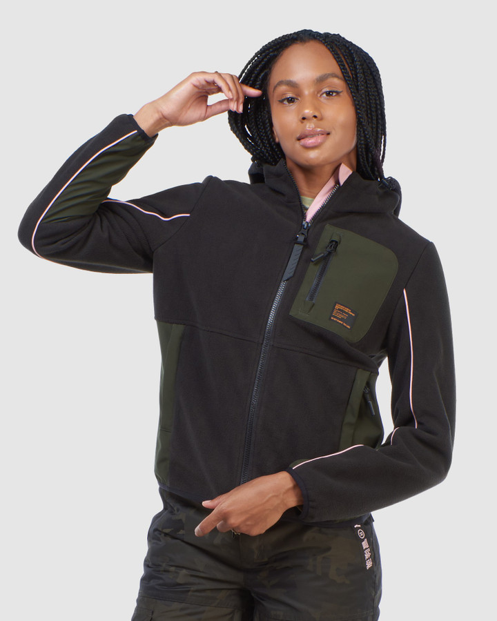 Superdry Freestyle Tech Fleece Black