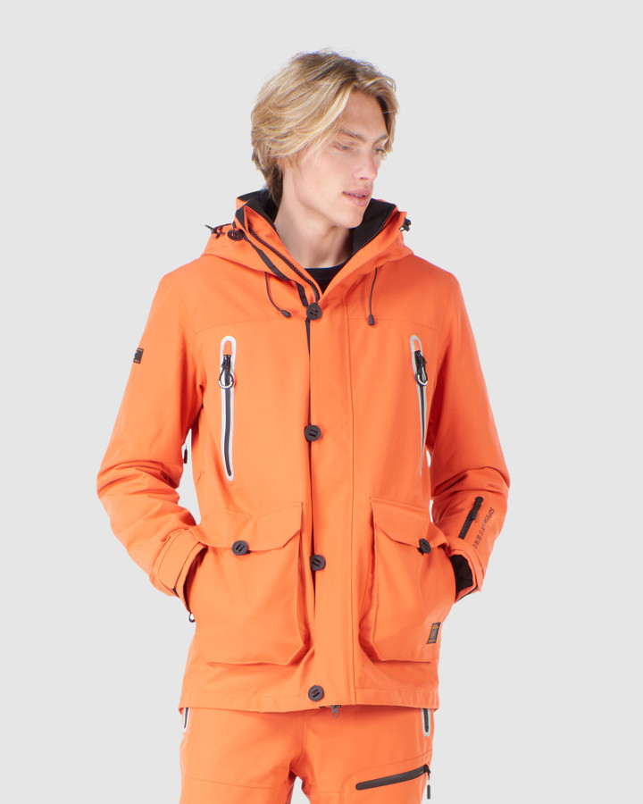Superdry Freestyle Jacket Havanna Orange