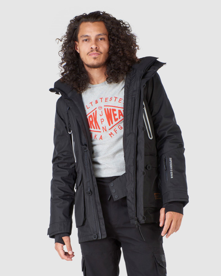 Superdry Freestyle Jacket Black