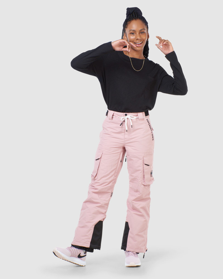 Superdry Freestyle Cargo Pant Soft Pink