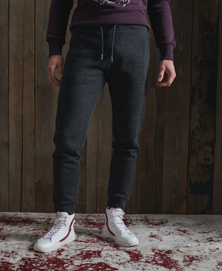 Superdry Ol Classic Jogger Black Snow Heather