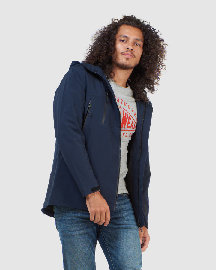 Superdry Hydrotech Ultimate Waterproof Eclipse Navy