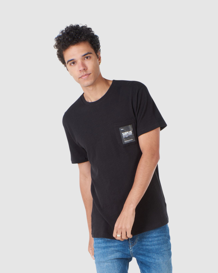 Superdry Surplus Pocket Tee Black
