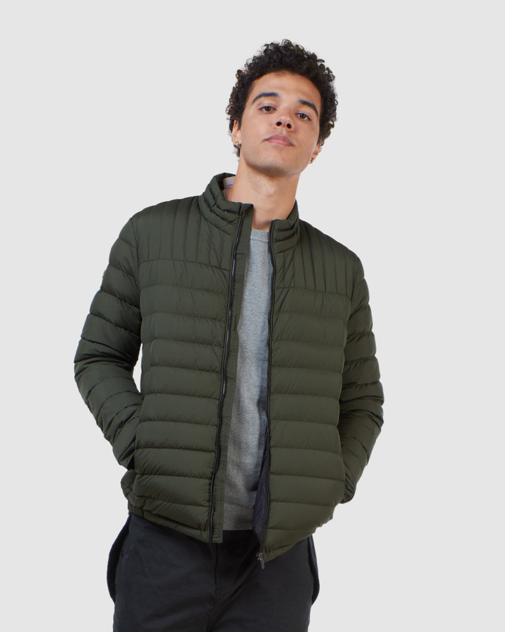Superdry Ultimate Core Down Surplus Goods Olive
