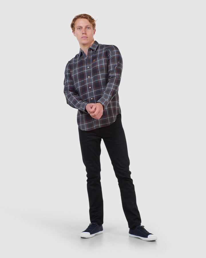Superdry Workwear Shirt Grey Check