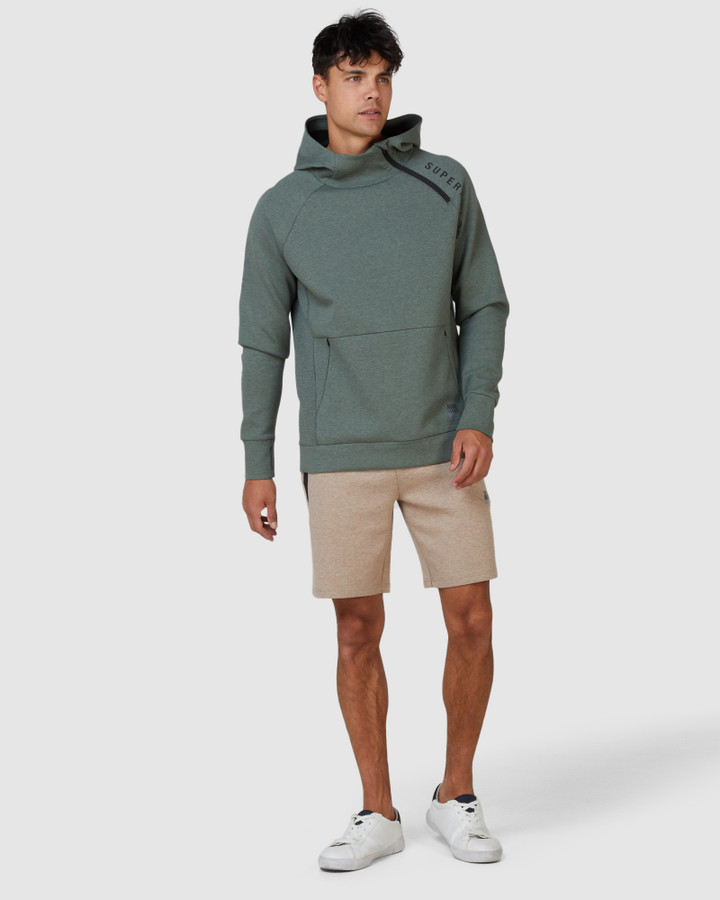 Superdry Training Gymtech Hood Military Duck