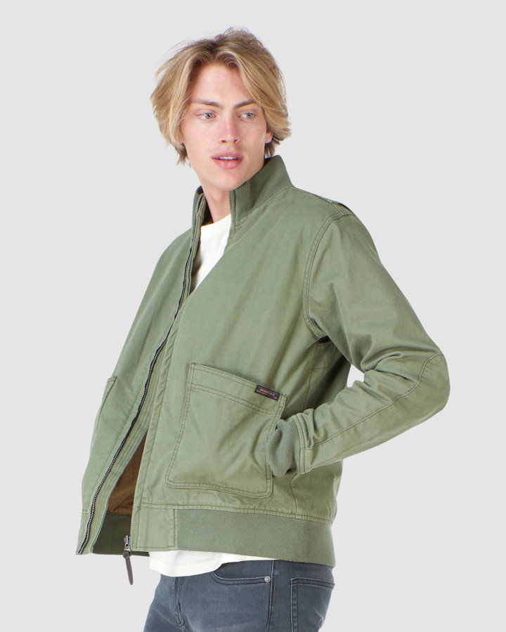 Superdry Tanker Jacket Fatigue Green