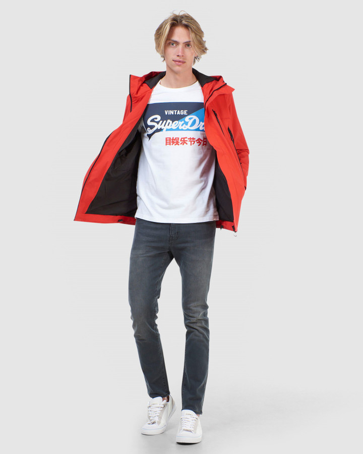 Superdry Hydrotech Ultimate Waterproof High Risk Red