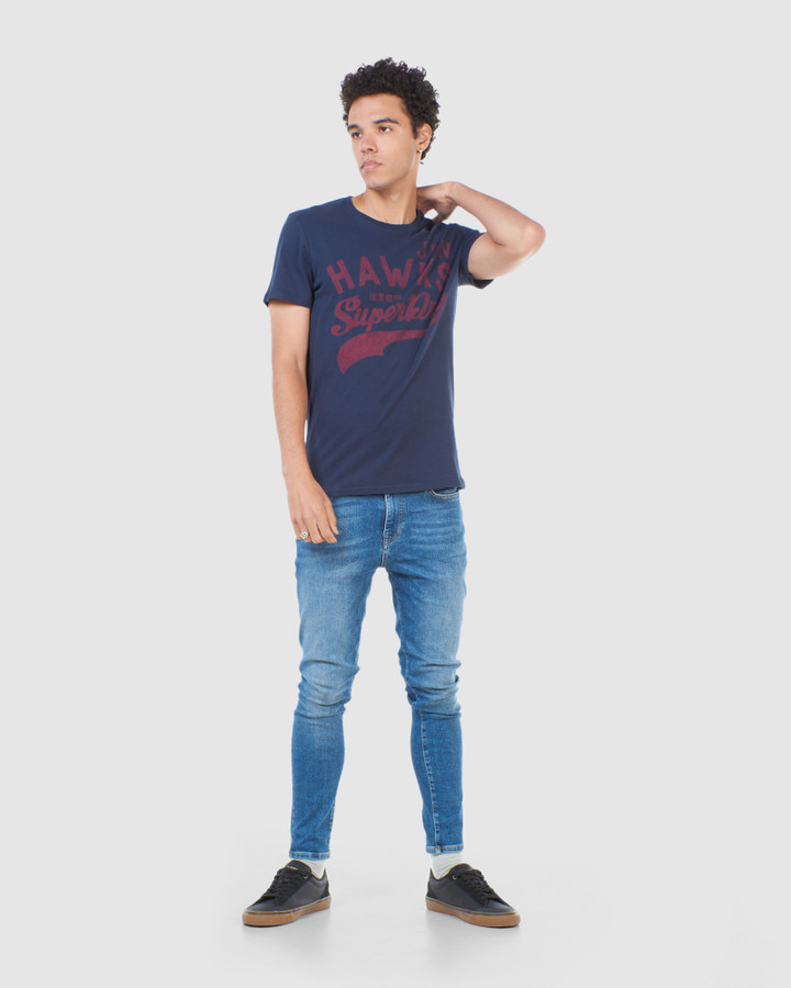 Superdry Rw Classic Tee Rich Navy