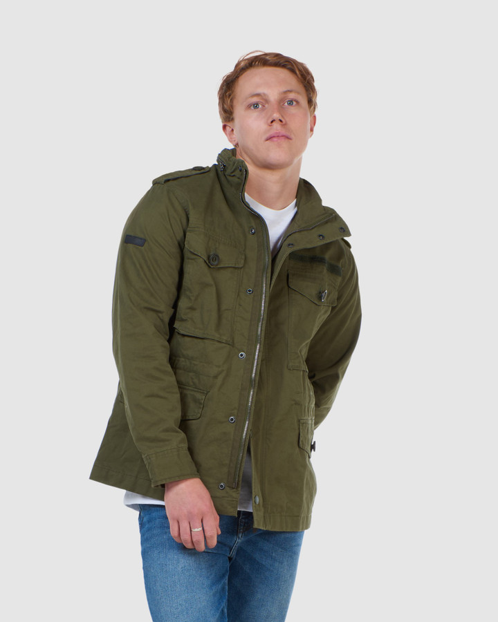 Superdry Field Jacket Authentic Khaki