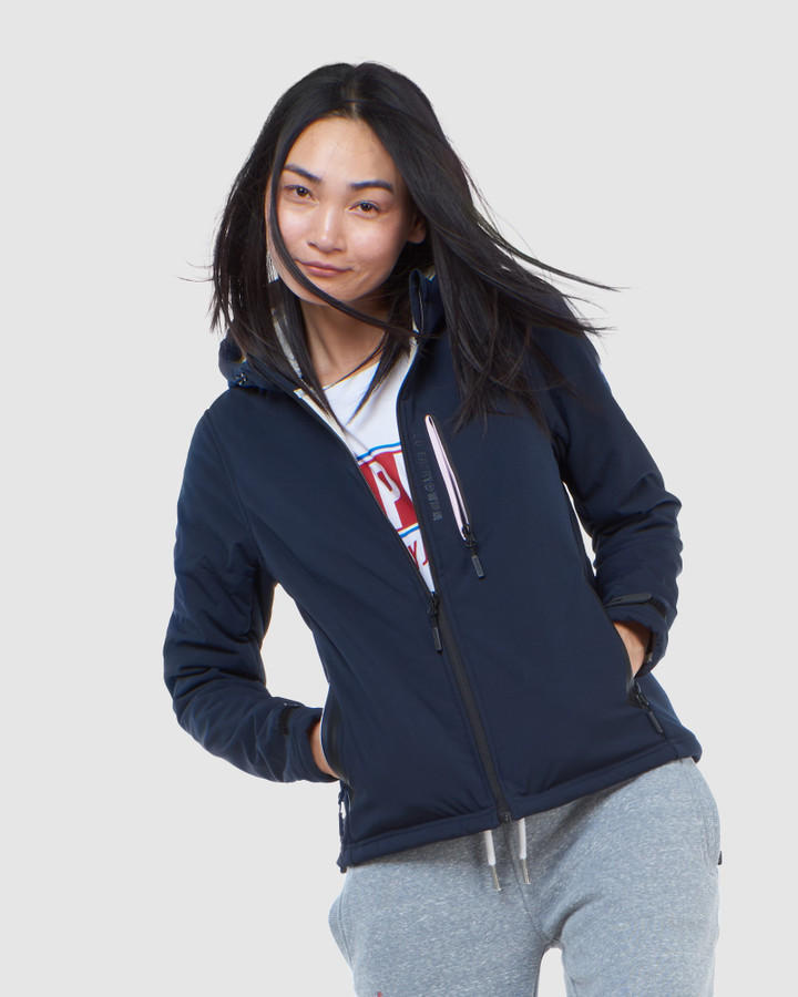 Superdry Arctic Soft Shell Jacket Eclipse Navy