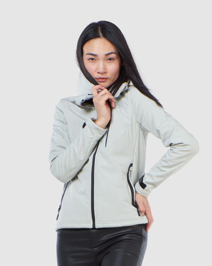 Superdry Arctic Soft Shell Jacket Grey Marle