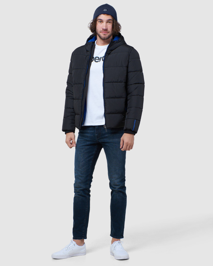 Superdry Sports Puffer Black