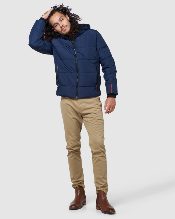 Superdry Sports Puffer Navy/Black