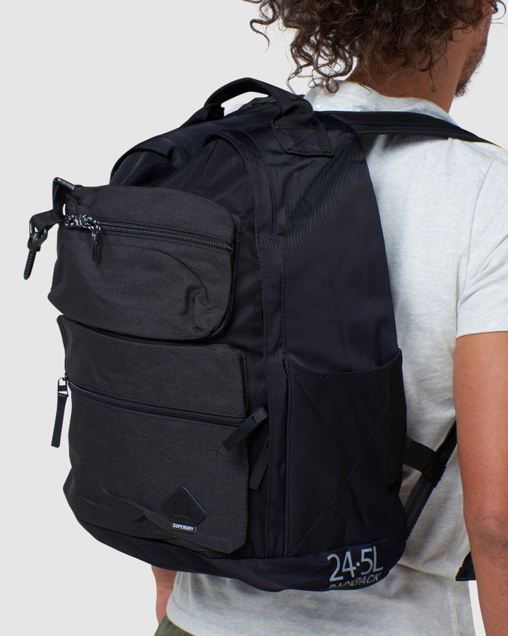 Superdry Pocket Rucksack Dark Marle