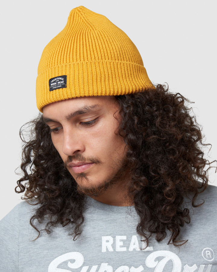 Superdry Storm Beanie Upstate Gold