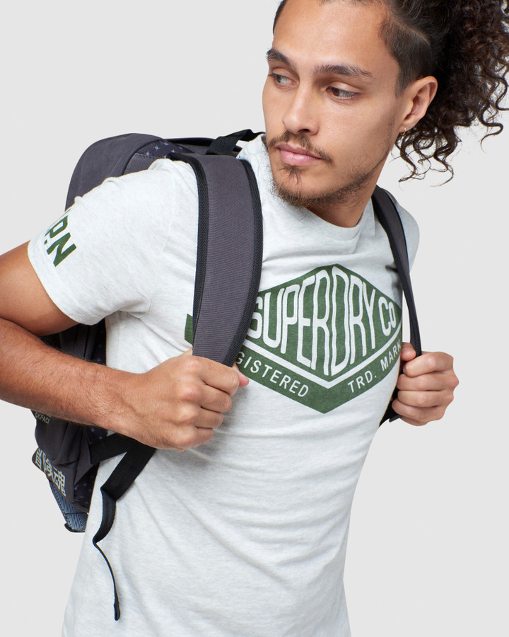 Superdry Thunder Backpack Dark Marle