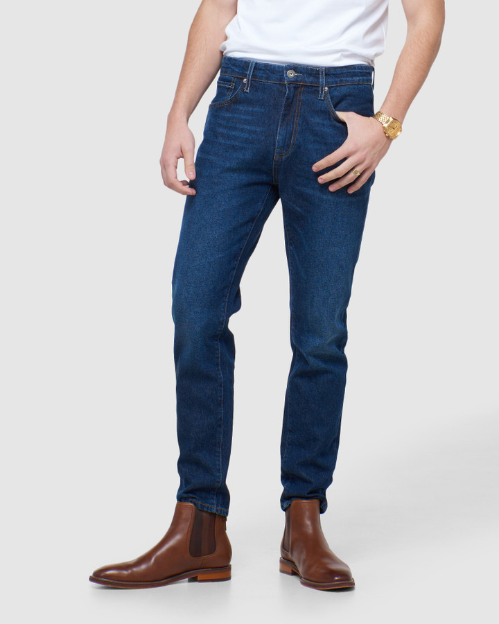 Superdry Taper Clifton Mid Worn 32