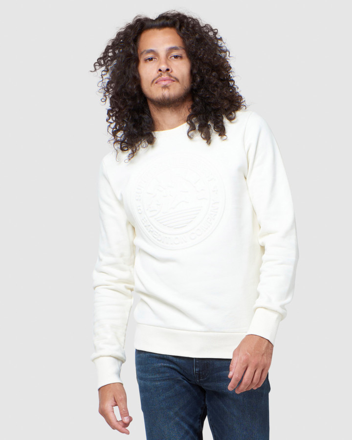 Superdry Everest Crew Cream