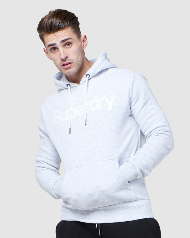Superdry Cl Ns Hood Ice Marle