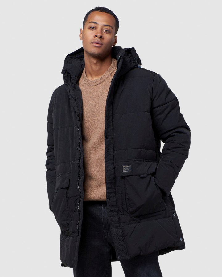 Superdry Pivot Parka Black