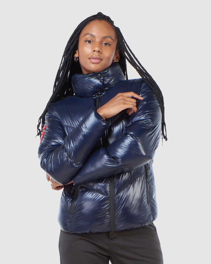 Superdry Mountain Pro Racer Puffer Navy