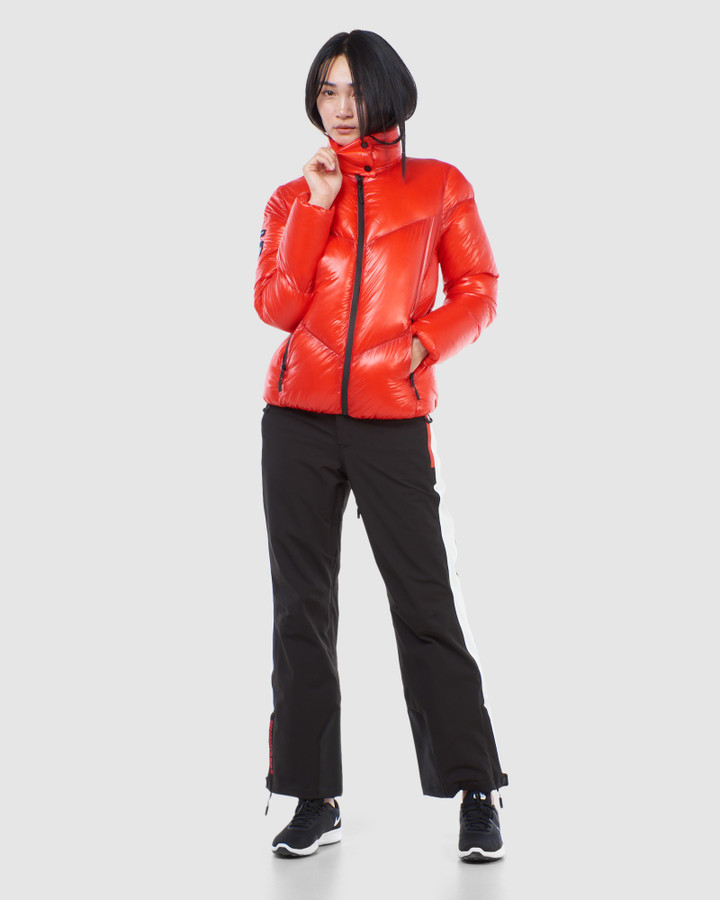 Superdry Mountain Pro Racer Puffer Apple Red