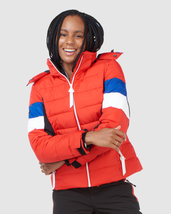 Superdry Alpine Revive Puffer Apple Red