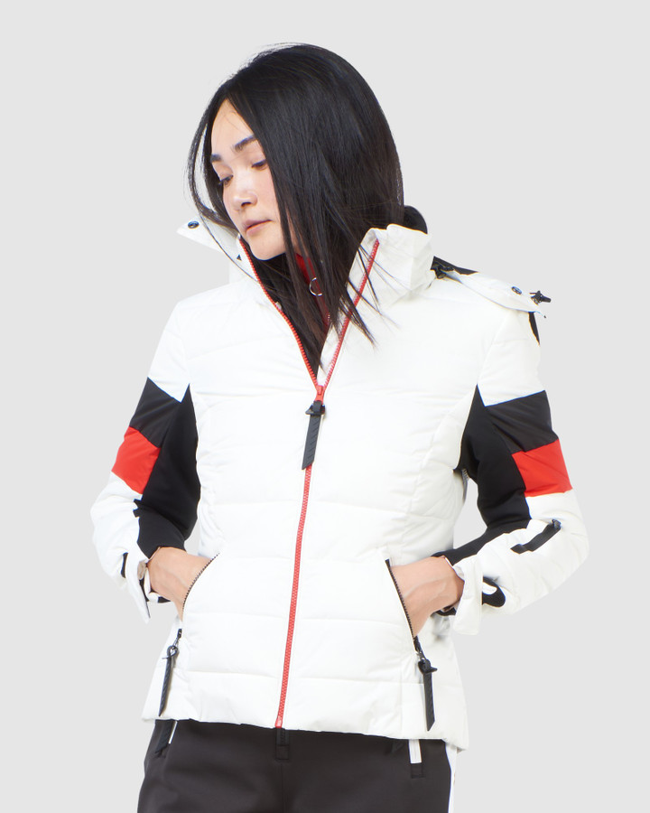 Superdry Alpine Revive Puffer White