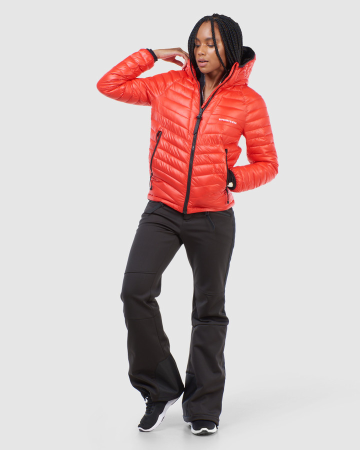 Superdry Alpine Padded Mid Layer Red